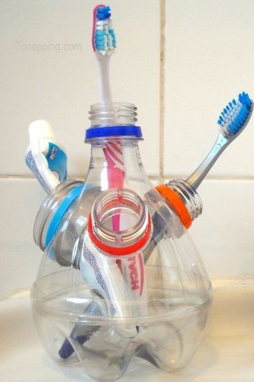 Plastik Siseleri Yeniden Kullanmak Icin Hazirlanmis 8 Zekice